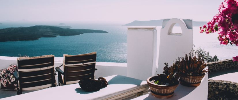 Huis met mooi zeezicht in Griekenland